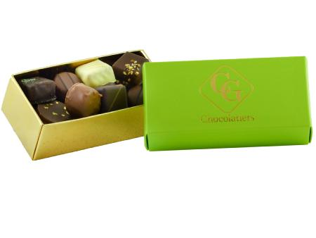 Ballotin de Chocolats Weiss Origine France 125g (Vert)