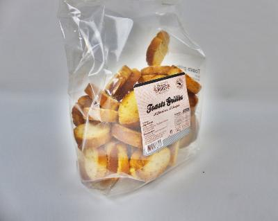 Mini Toasts Grillés - Sachet 150gr