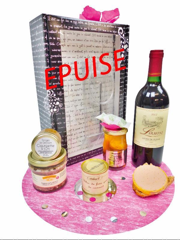 panier garni produits du terroir coffret no l foie gras. Black Bedroom Furniture Sets. Home Design Ideas