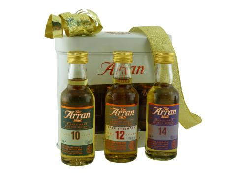 Coffret Whisky de Prestige - The Arran Malt Triple Pack